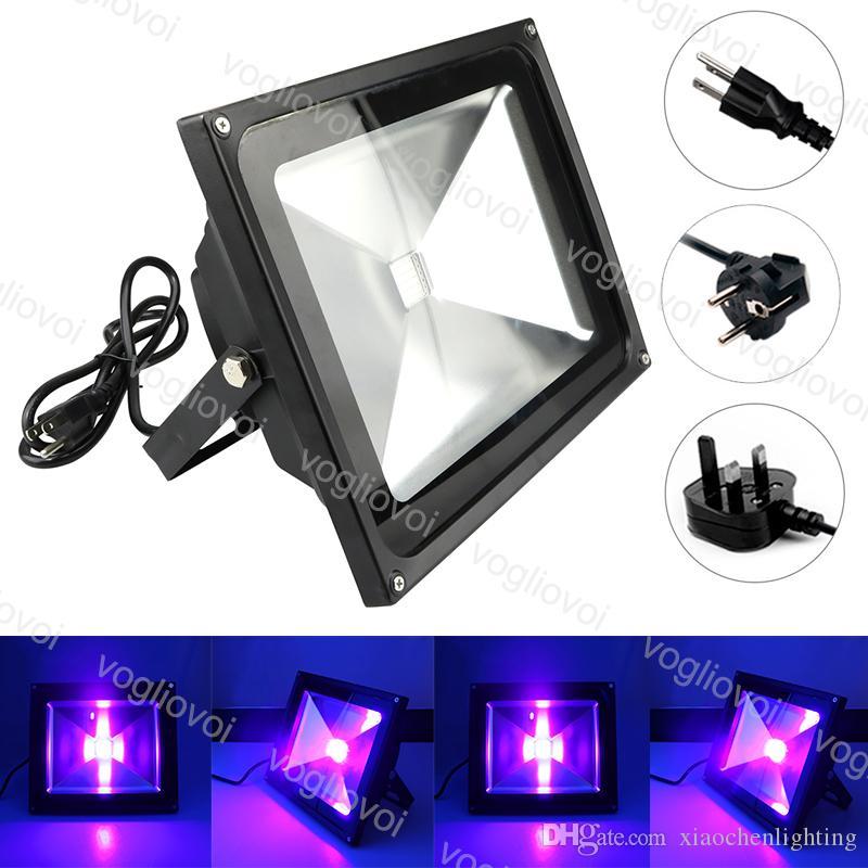 UV LED Floodlight 10W 20W 30W 50W High Power Ultra Violet Detection Flood Light