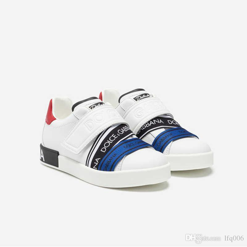kutusuyla Yeni kadın lüks tasarımcı ayakkabıları açık spor ayakkabı moda rahat yürüyüş ayakkabıları dana derisi eyer deri kuyruk en kaliteli