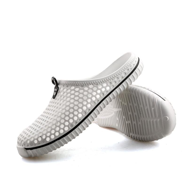 뜨거운 판매 -SAGUARO 여름 슬리퍼 남자 2018 뉴 홀드 아웃 통기성 비치 샌들 신발 Unisex 캐주얼 슬립 온 플립 플립 플롭 zapatos