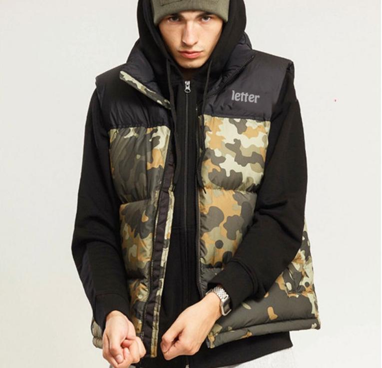 Spor Kış Erkek Aşağı Yelek Marka Erkek Kalın Ceket Sıcak Dış Giyim Kadın Tasarımcı Parka Yelek Lüks Dış Giyim WINDBREAKER X B103450L
