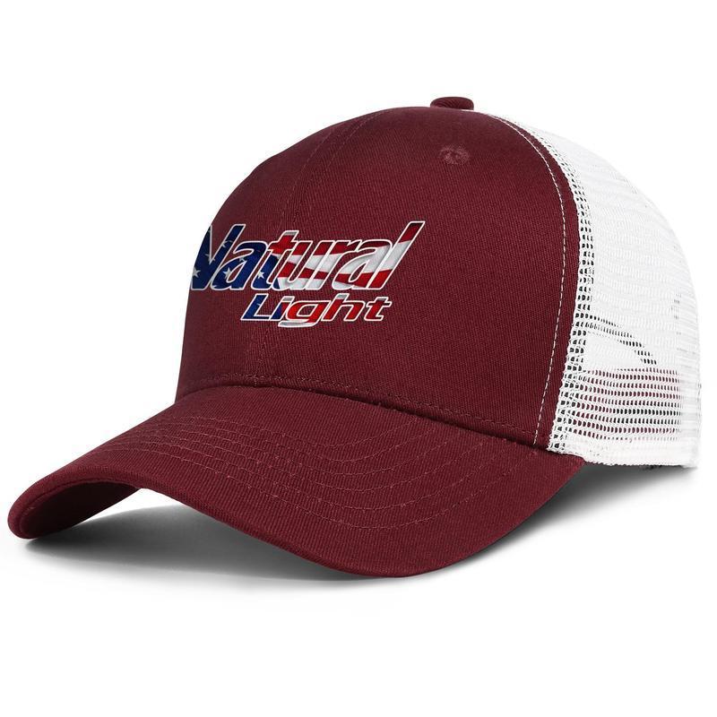 Унисекс Natural Light Beer стереоскопического Американского флаг Wgier граница Регулируемого Trucker Cap Cricket Монтажн персонализированная мода Бейсбол