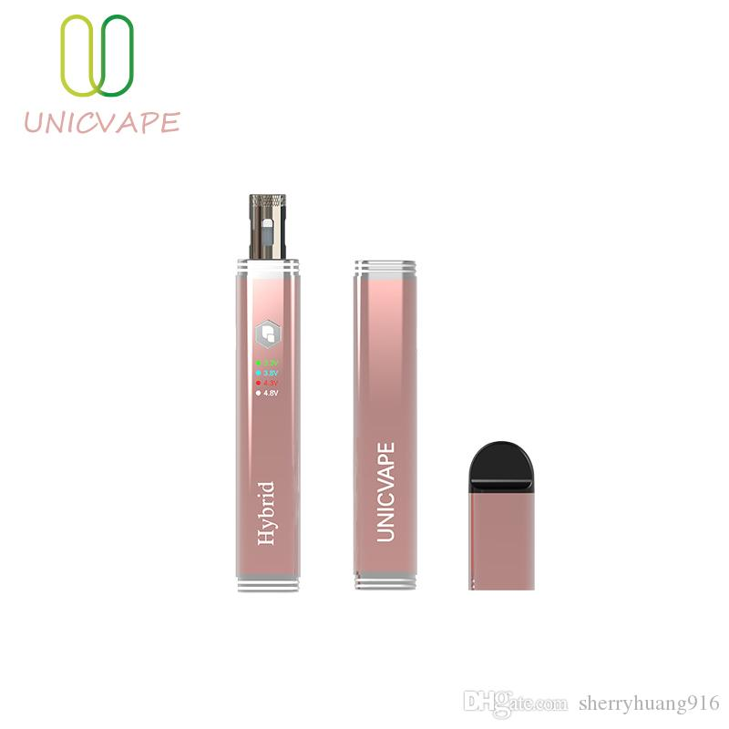 2019 most popular wholesale price 510 thread 400mah rose gold slim size adjustable voltage wax pen for thick oil and shatter starter kits