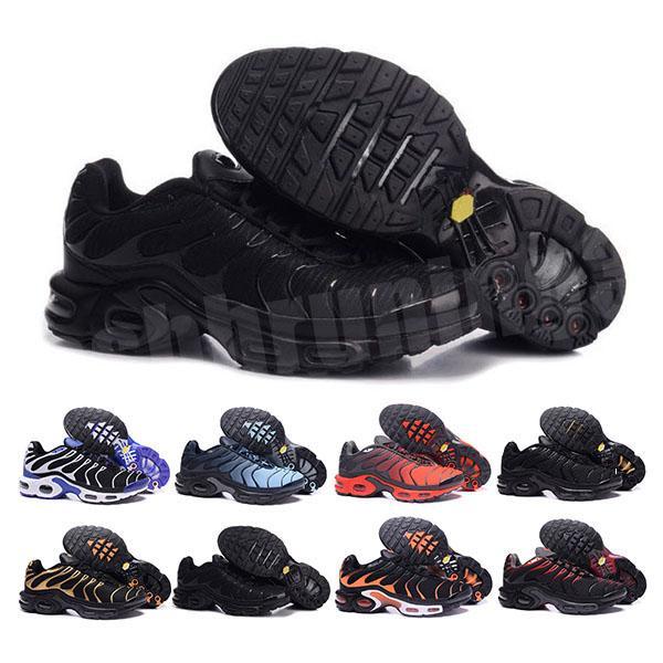 2020 Top Aire Mercurial TN además Negro Blanco Naranja rojo Correr wuqidhnmlgb los zapatos al aire libre de la mujer para hombre TN entrenadores deportivos zapatillas de deporte 40-46 C8326