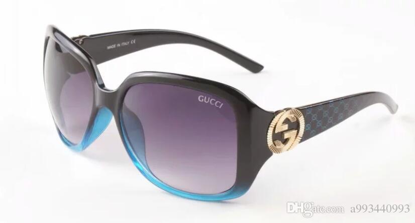 1pcs High Quality Classic Pilot Sunglasses Designer Brand Mens Womens Sun Glasses Eyewear Gold Metal Green 62mm Glass Lenses Brown A45