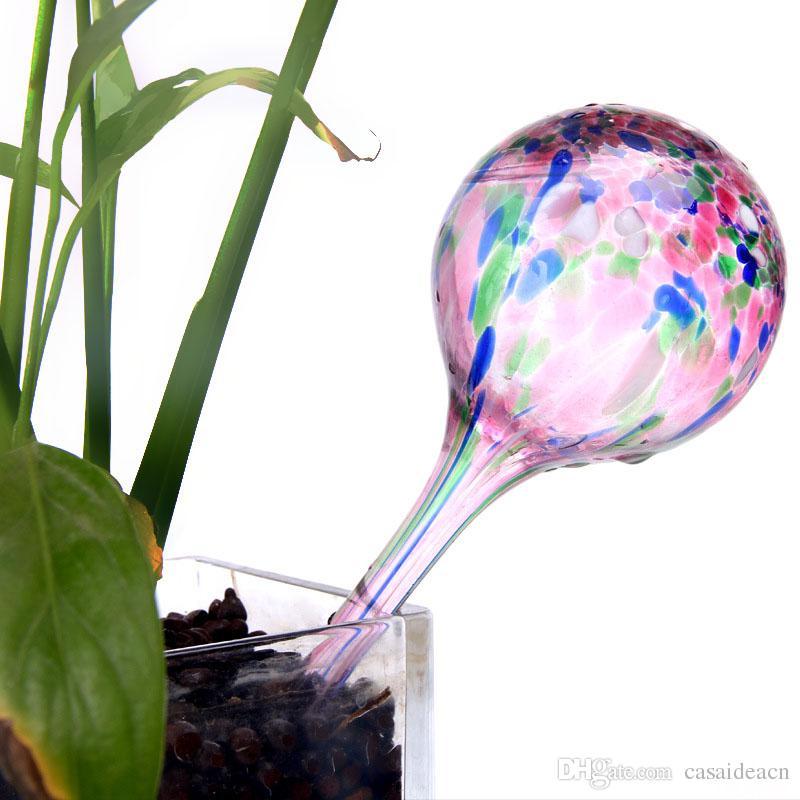 Aqua Globes Mini Pack de 3 décorative main verre soufflé petit arrosage des plantes bulbes