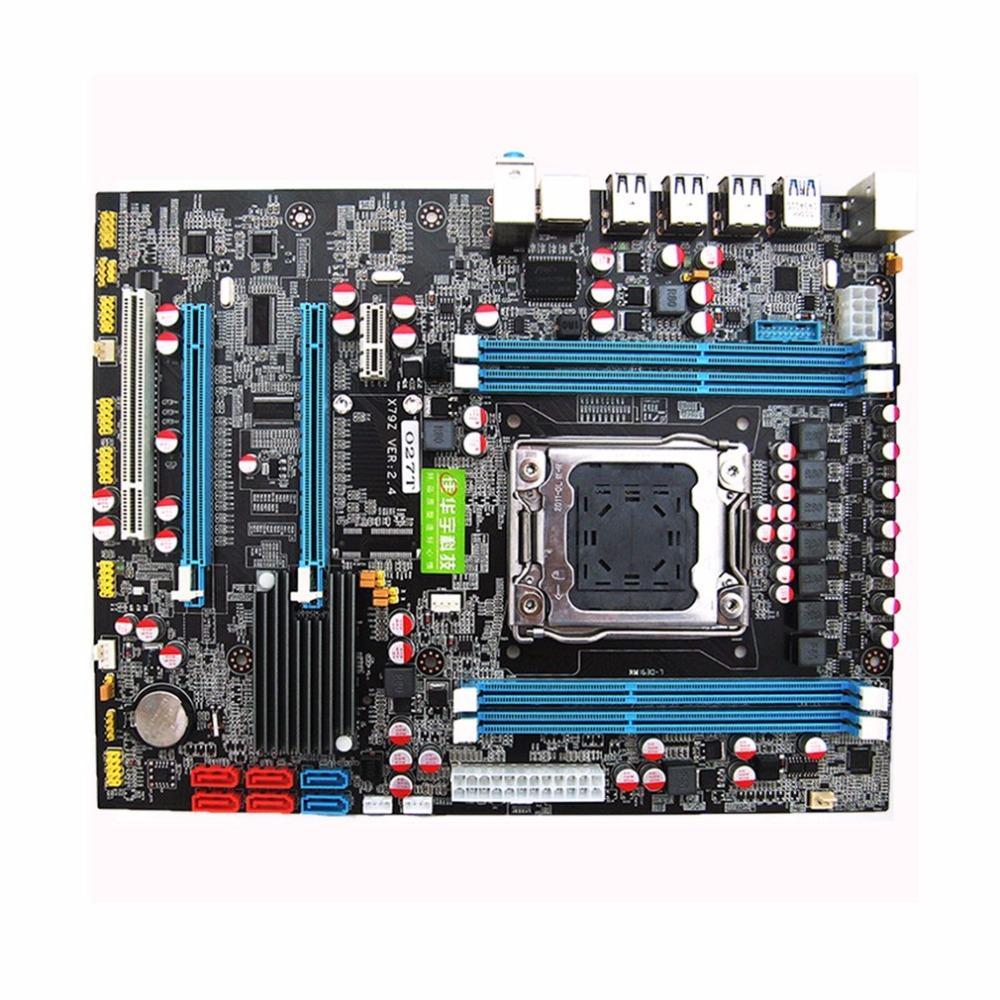 X79 freeshipping placa base CPU RAM Combos LGA2011 REG ECC C2 memoria DDR3 16G 4 canales de soporte E5-2670 I7 seis y ocho núcleo de la CPU