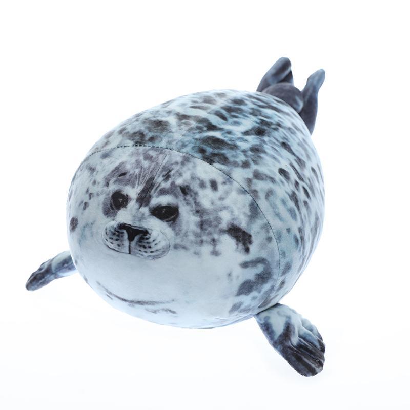 1pc macio 35-60cm macio Sea Lion Plush Toys Mar Seal Animal World Plush Stuffed boneca Pillow Adormecida presentes meninas miúdos CX200628