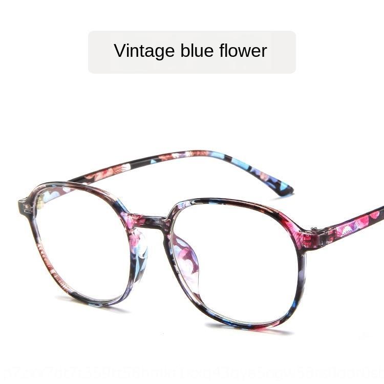 Harajuku Miyop düz yuvarlak çerçeve, çerçeve miyopi gözlükler