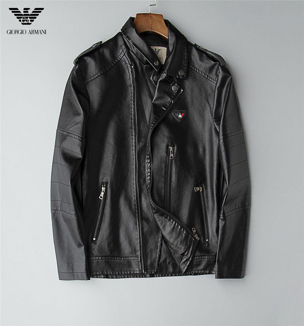 Marca 2019 casaco novo couro de vaca Men projeto de Luxo Moto motociclista jaqueta de couro moda jovem e genuíno couro de Men Brasão