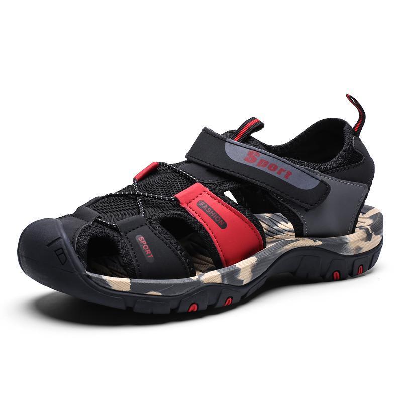 Новое лето новых людей Мягкие сандалии Комфортная Мужчины Лето Вода обувь Сандалии Soft Бич Сандалии Мужчины римскими обувь кроссовки