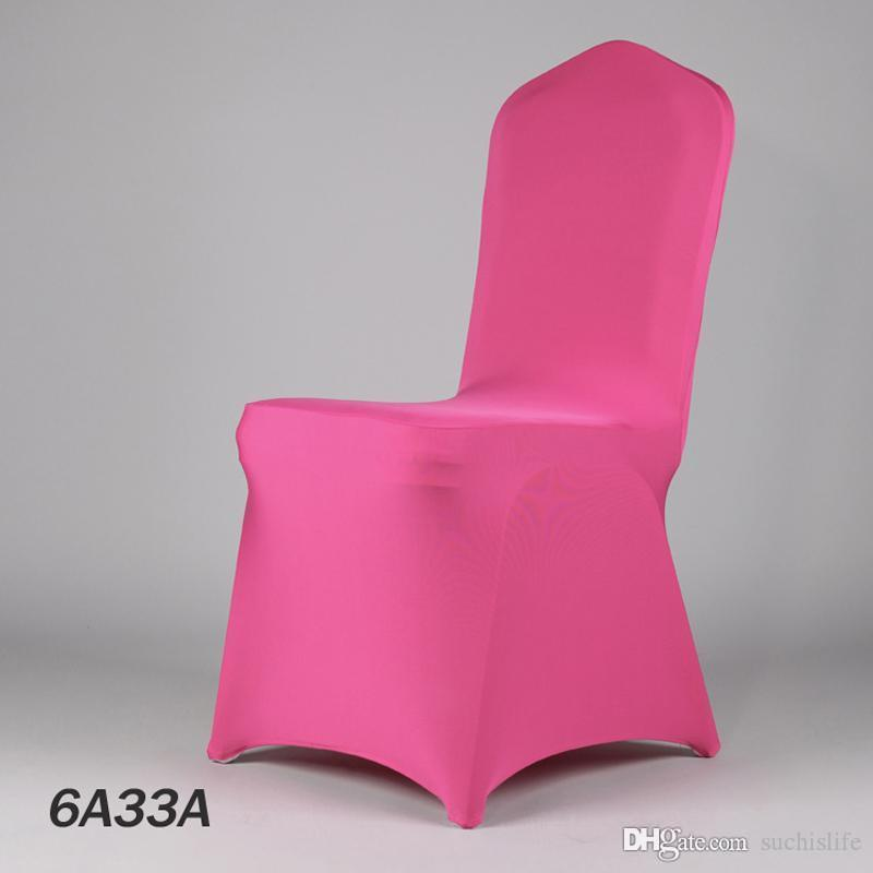 100PCS Multicolor Fancy Spandex Wedding Chair Covers Event Hotel Stretch Cover Chair From Factory Retail 20170629#