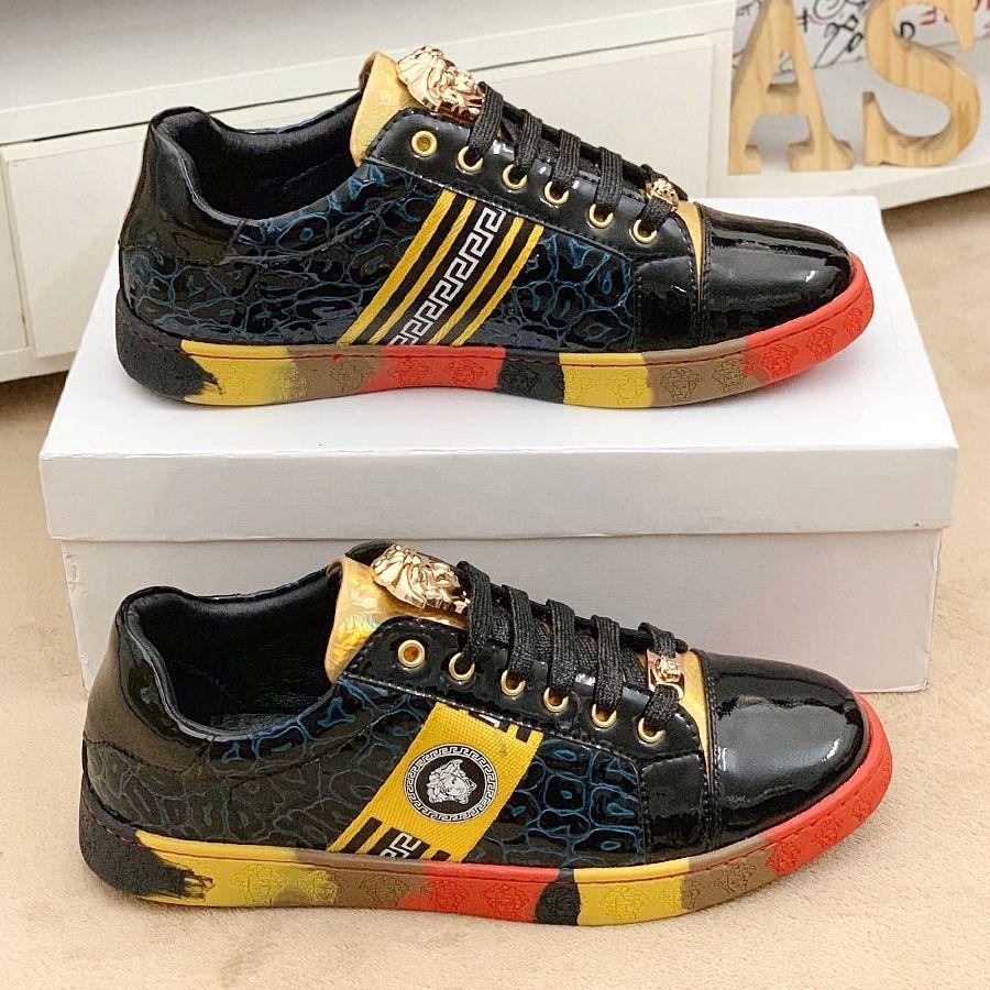 Последние роскошные мужские туфли высокое качество кожа повседневная спортивная дизайнерская обувь Мода Милан стиль мужская обувь размер 38-45 модель ST0921 qw