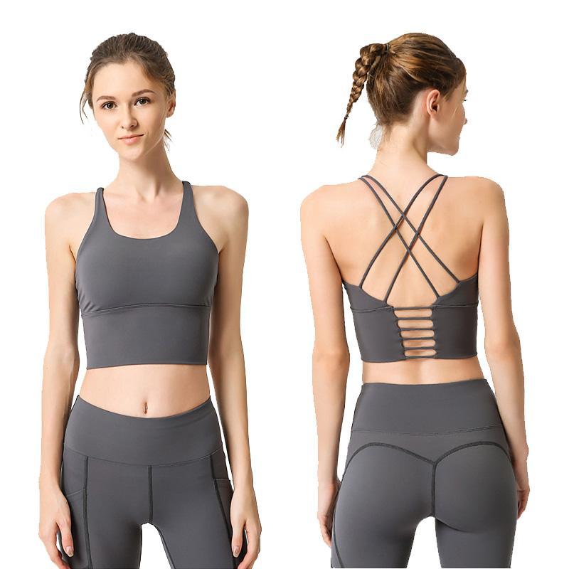Yoga transparente Ensembles Gym Ensemble 2 pièces vêtements de sport pour femmes Sport Fitness Vêtements de sport Soutien-gorge et caleçons Set vêtements de sport