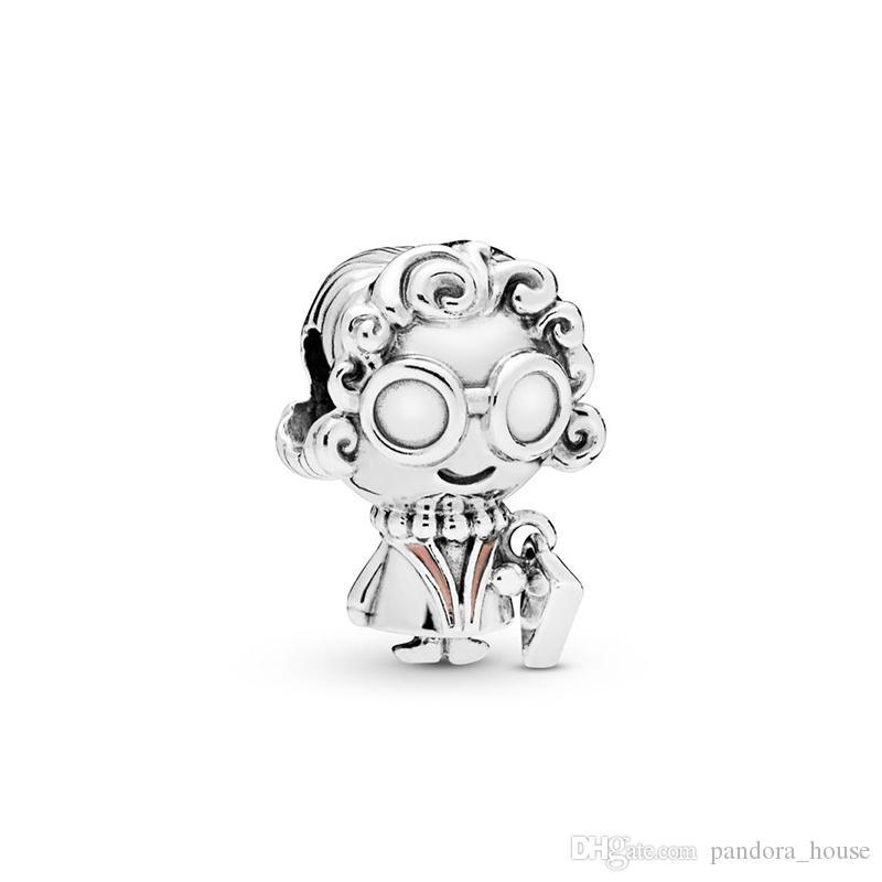 2019 Fête des Mères Authentique Réel 925 En Argent Sterling Pandora Grand-Mère Charmes Charmes Européens Perles Fit Bracelet Pandora DIY Jewelr