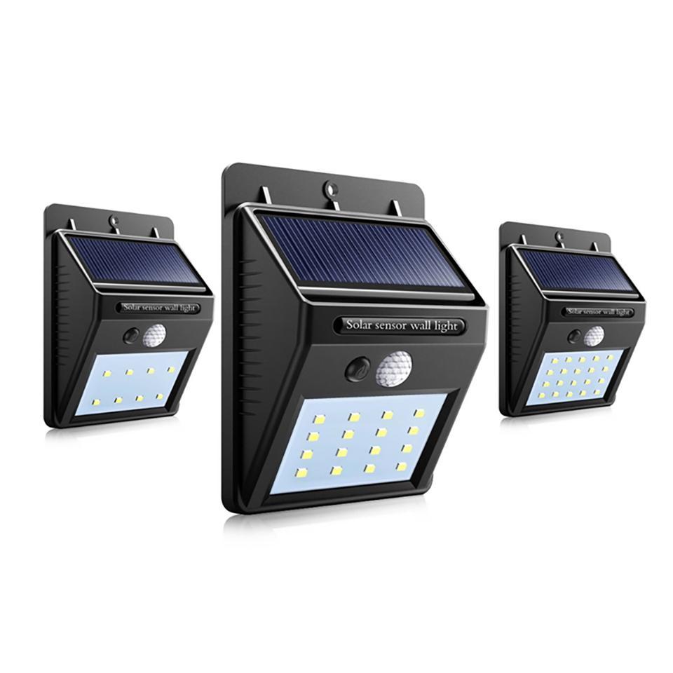 Güneş Enerjisi LED'i Güneş PIR Hareket Sensörü Gece Güvenlik Ampul Sokak Yard Yolu Bahçe lamba ile ışık Açık Duvar LED Güneş lambası