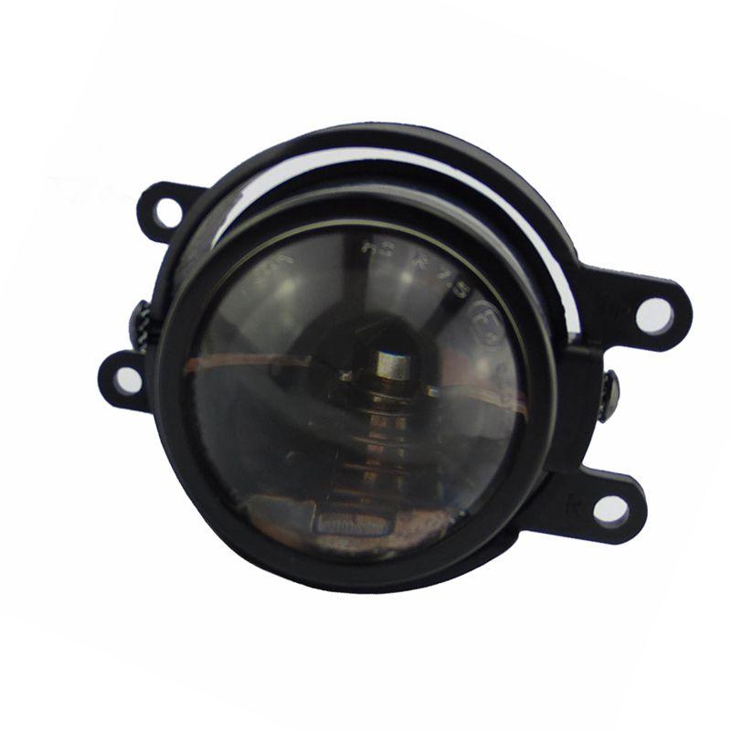 Amortecedor dianteiro halogênio LEVOU escondido H8 H9 lâmpada holofotes Alta Baixa luz de nevoeiro Feixe de luz montagem assembléia lente para TOYOTA AQUA 2012 2018