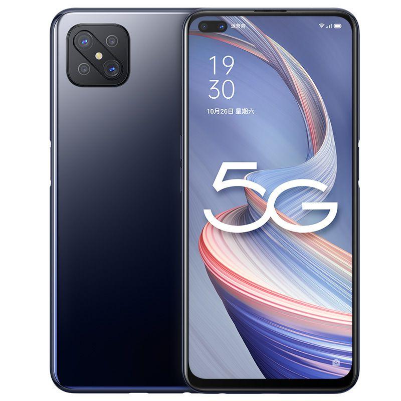 "Original OPPO A92S 5G Mobile Phone 6GB RAM 128GB ROM MTK Dimensity 800 Octa Core Android 6.57"" Full Screen 48.0MP OTG 4000mAh Face ID Fingerprint Smart Cell Phone"