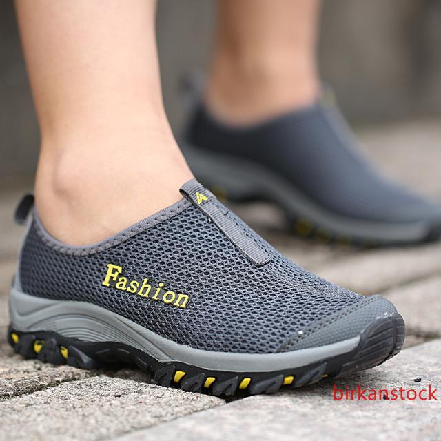 negro de la aguamarina zapatos ultra ligero de secado rápido de la playa del río que camina del agua de Verano Hombres transpirable zapatillas de deporte al aire libre zapatos para caminar Niños