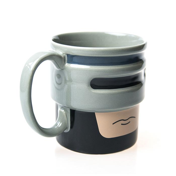 Robocup Mug - Robocop Style Coffee Tea Cup - GIFTS & GADGETS T200506