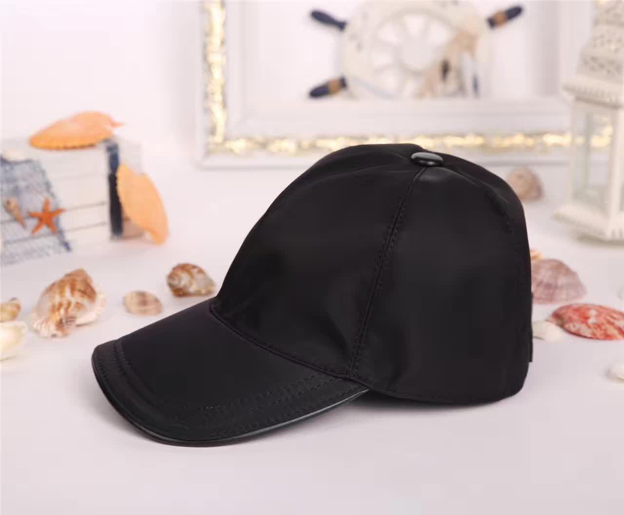 2018 Fashion Men's Ball Caps High Quality European Style Hats Sun Hat Four Colors Optional Baseball Cap