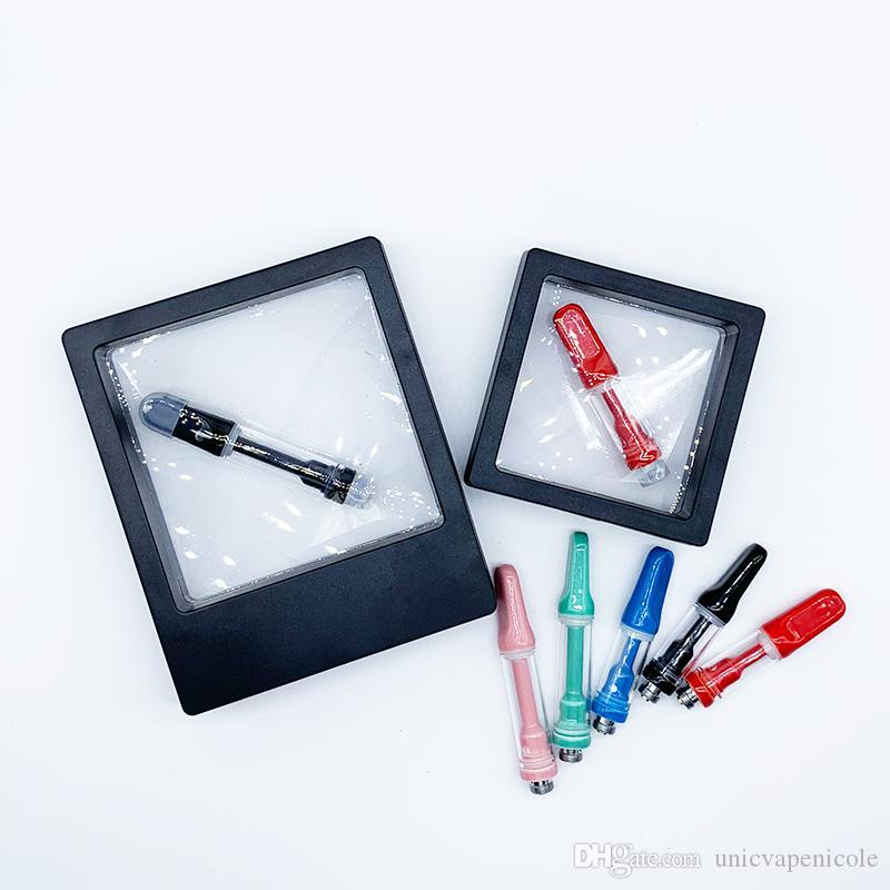 Не Оптовая Новый дизайн Vape картридж 100% Нет Течь 1,0 мл 0,5 мл Полный керамический для нефти Fit батареи 510 Thread