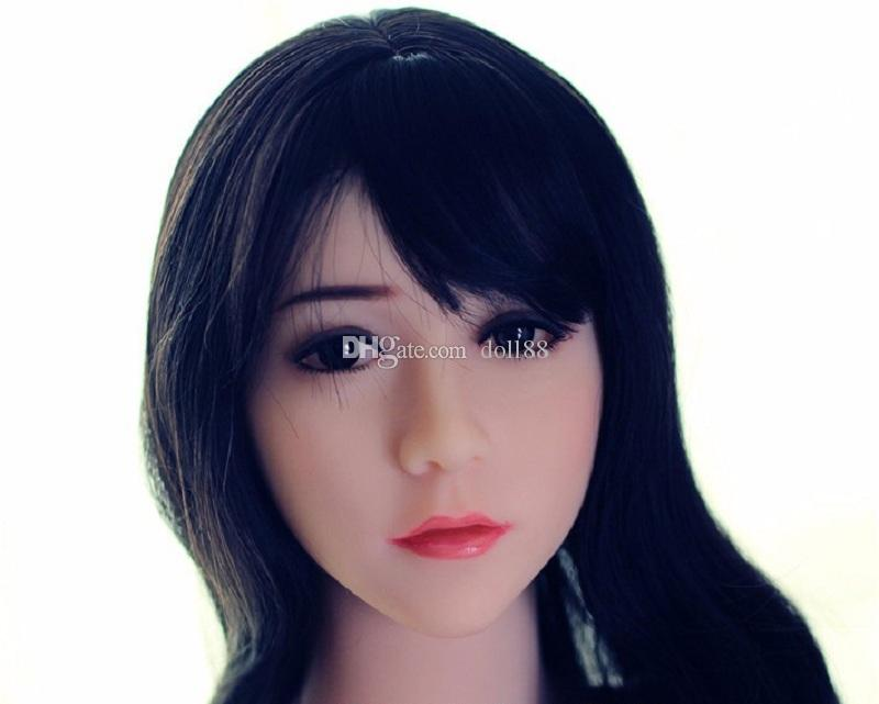 New Top oral sex doll head for silicone adult dolls, full size sexy dolls heads, oral love doll sex toy for men
