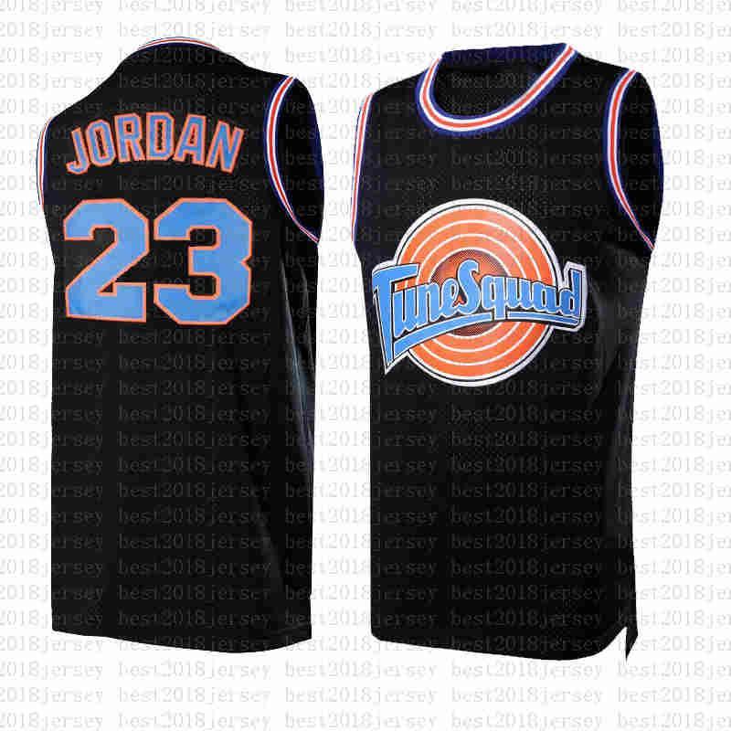 beyaz 23 Michael Squad Uzay 2 Jam Tavşan Film Jersey Michael 23 JD 10 Lola Basketbol Jersey NCAA