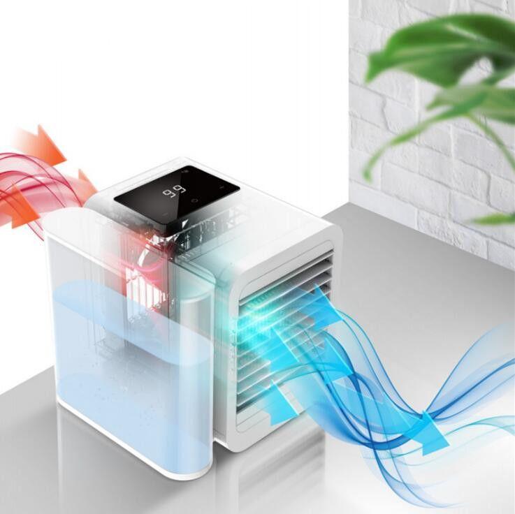 Персональный воздушный охладитель USB портативные охладители с Waterbox Настольный вентилятор 99 скорость вентилятора ультра-Тихий настольный кондиционер для домашнего офиса детский подарок
