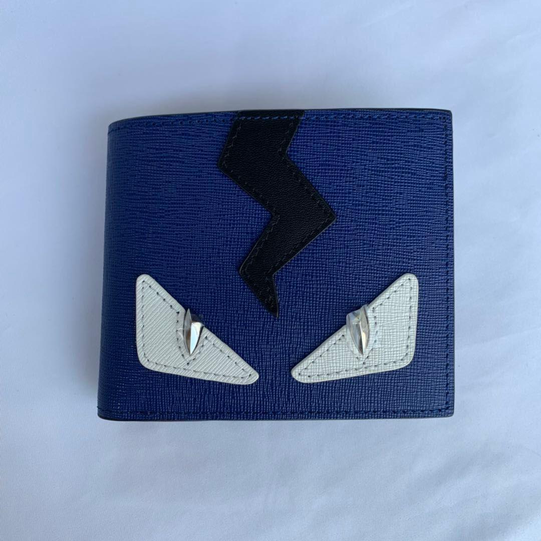 kadın kısa cüzdan üç katlama çok fonksiyonlu renk eşleştirme cüzdan buzağı deri yumuşak Zarf renk eşleştirme zarf üç kat