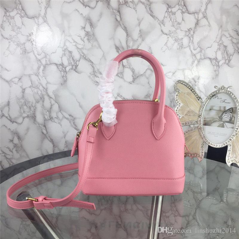 High Quality Women Fashion Shell Handbags Genuine leather Crossbody Bag Shoulder Tote 5 colors