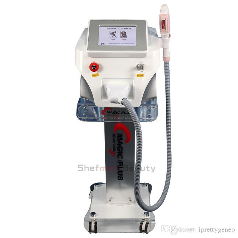 OPT SHR depilazione macchine laser macchina più OPT E Light Ipl Laser Hair Removal pelle attrezzature di ringiovanimento di bellezza di cura