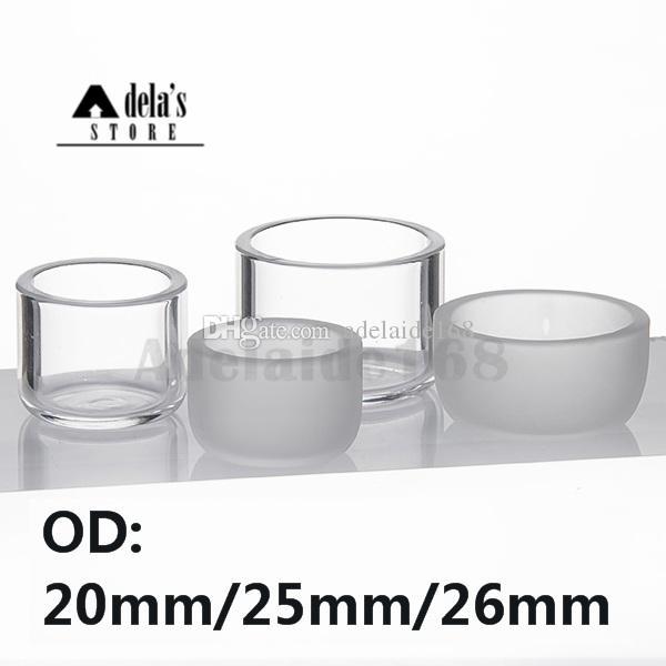 Thermische insert kom od 32mm voor Eternal Quartz Banger Vervanging Quartz Olie Schotel 10mm 14mm 18mm Mannelijke Vrouwelijke DAB RIG 625