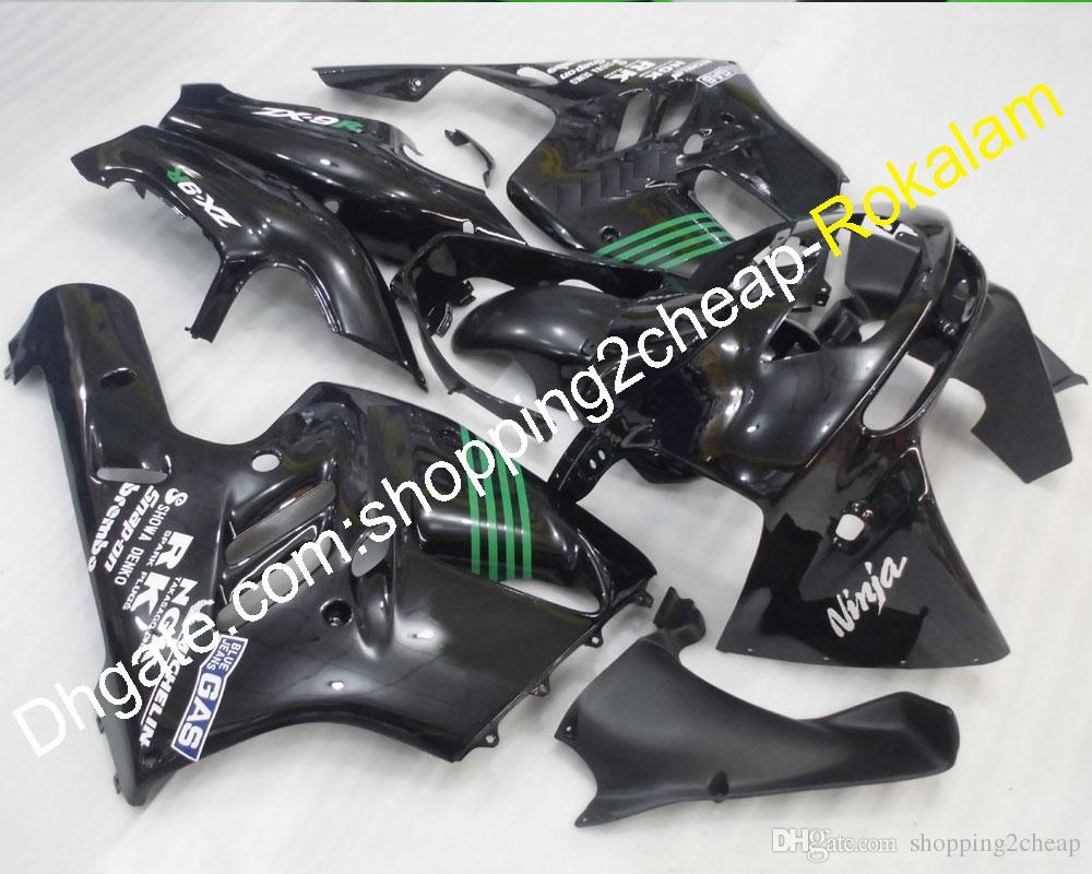 Juego de accesorios para motos Carenado de ABS para Kawasaki 94 95 96 97 ZX-9R ZX9R ZX9R 1994 1995 1996 1997 Carenados del cuerpo de la motocicleta