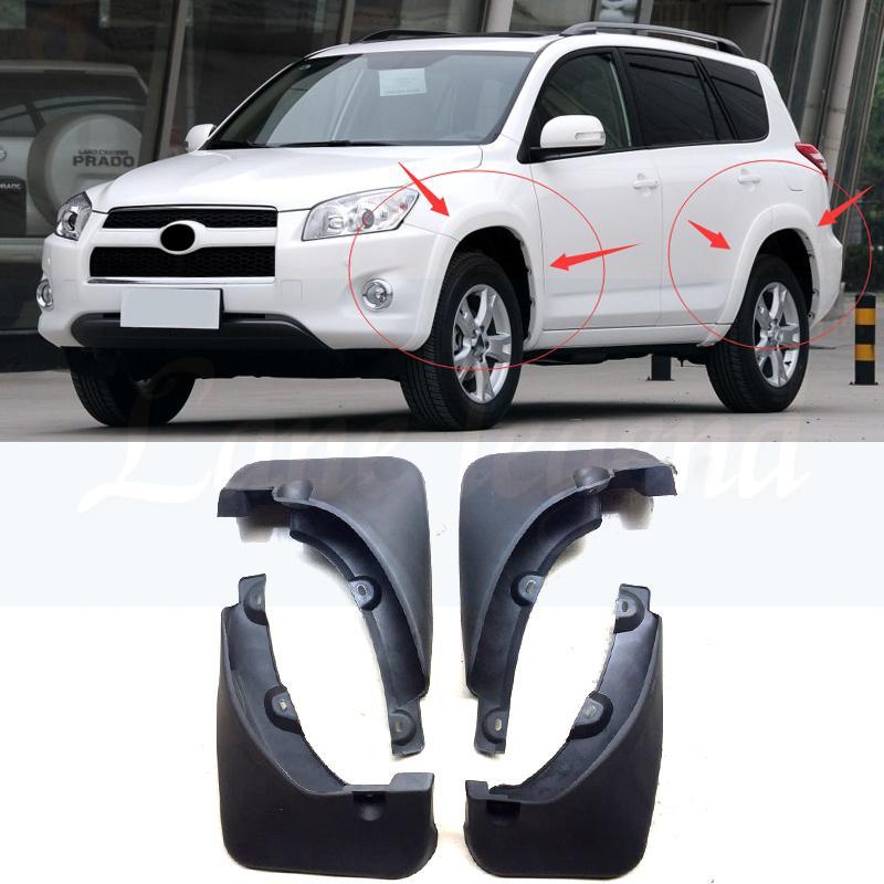 Contorno de barro aletas para Toyota delanteras y traseras de coche personalizado Moldeado mudflaps