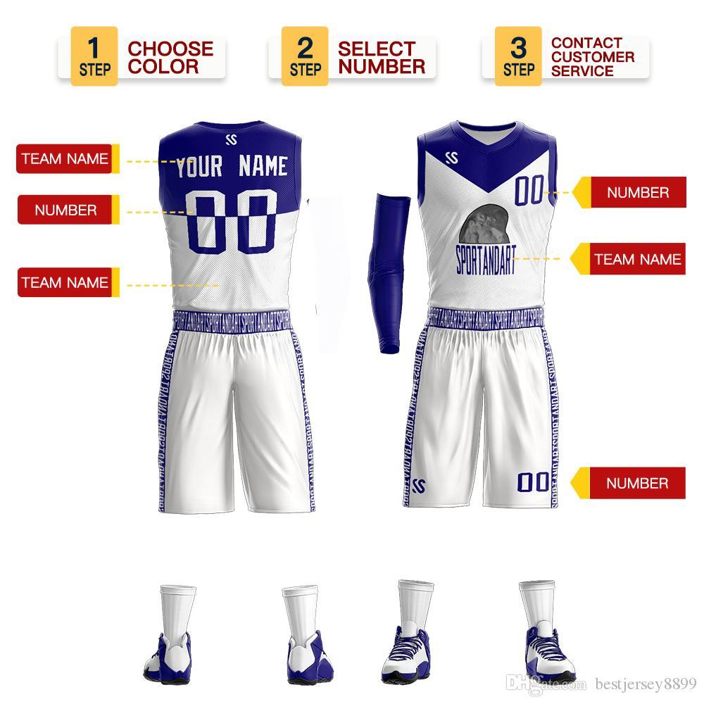 Günstige Herren Basketball Jersey atmungsaktiv College Sport Team Trainingsanzüge Ärmelloses Training Jersey Uniformen angepasst