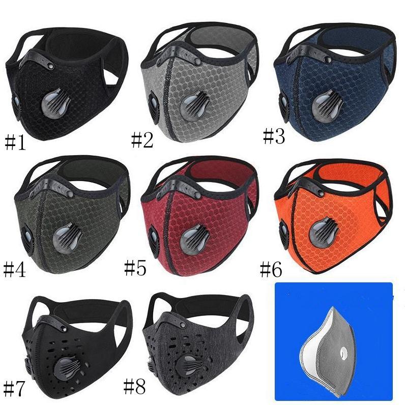 В наличии !! велосипедного маска Пылезащитно Haze доказательство дышащий ВС Защитная маска мужчины и женщины на улице Спортивные товары с Filte EEA1486