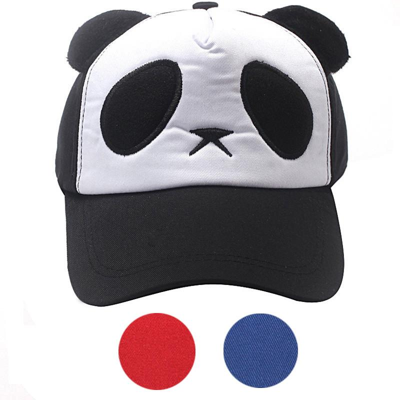 Winter Autumn Baby Hat Child Boys Girls Cotton Cute Panda Children Snapback Baseball Cap Hat newborn infant Casquette Enfant