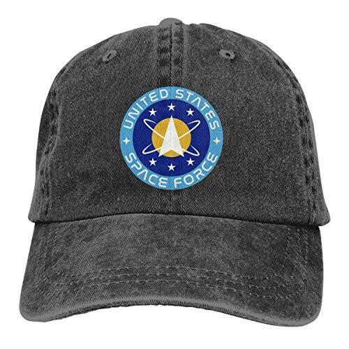 CoolTlong Amerika Birleşik Devletleri Uzay Gücü Erkekler Kadınlar Moda Şapkalar Klasik Şapka Cap Unisexe Erkekler Kadınlar Beyzbol Spor Dış Mekan Cap Hip-hop