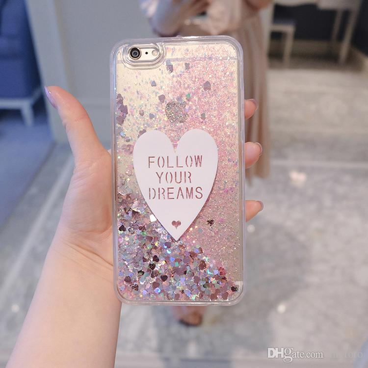 Mytoto Quicksand Capinha For Samsung S8 Plus S7 edge S6 Glitter Dynamic Liquid Hard PC Case For Samsung S7 S8 S9 Plus Cover Clear Capa