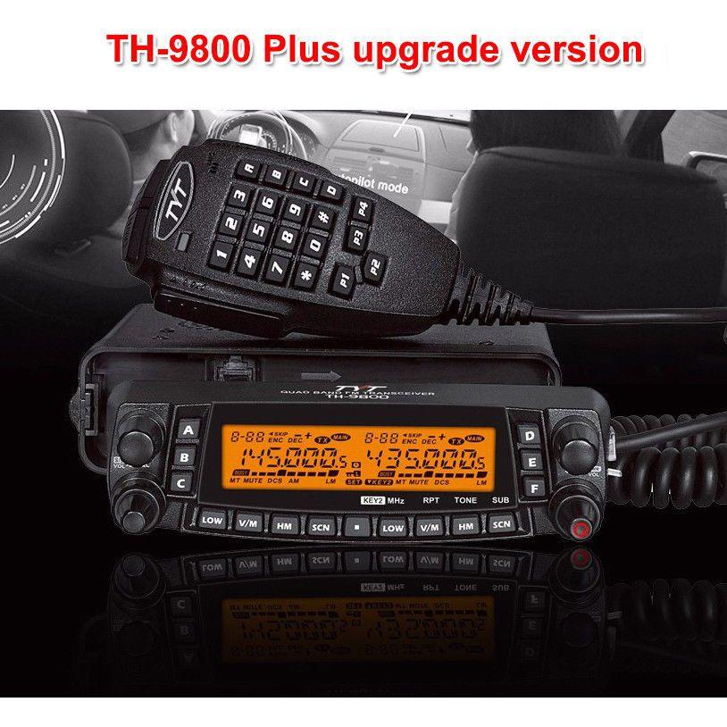 Latest version TYT TH-9800 Quad Band 50W Walkie Talkie Upgraded TH9800 Car Radio
