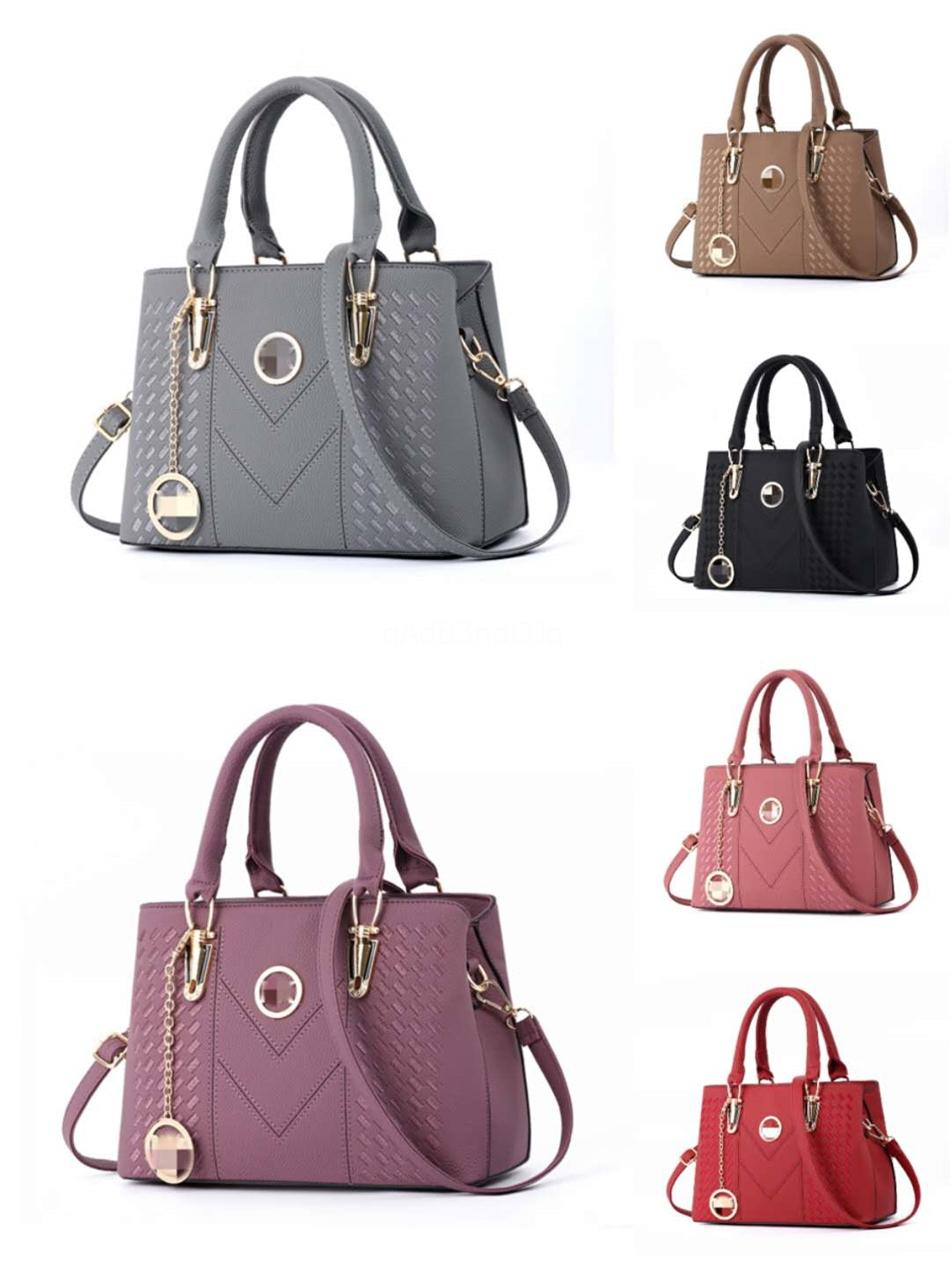 2020 High Quality Womens Luxury Designer Handbags Monogram Canvas Handle Strap Crossbody Bag Designer Tote Bag 25Cmx19Cmx11Cm Type2#512