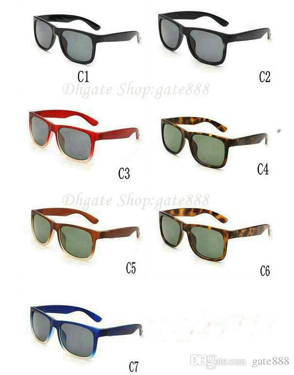 Mode Hohe Qualität Frauen Sonnenbrille Marke Designer Sonnenbrille Männer Brille Goggles Sonnenbrille Schnelles Verschiffen 7 Color.