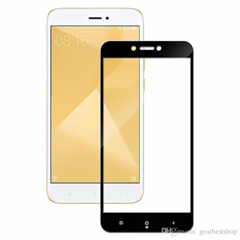 Protetor de tela cheia de vidro temperado para Redmi 4X Xiaomi