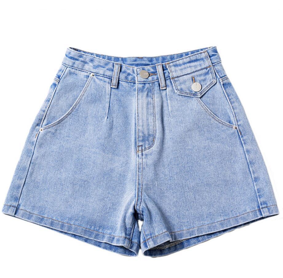 Compre 2020 Nueva Lt802 Cintura Pantalones Cortos De Mezclilla Para Mujer Atractivo De La Vendimia Brand Jeans Pantalones Cortos Mujeres Pantalones Cortos De Mezclilla De La Cadera Delgada Del Tamano Extra Grande