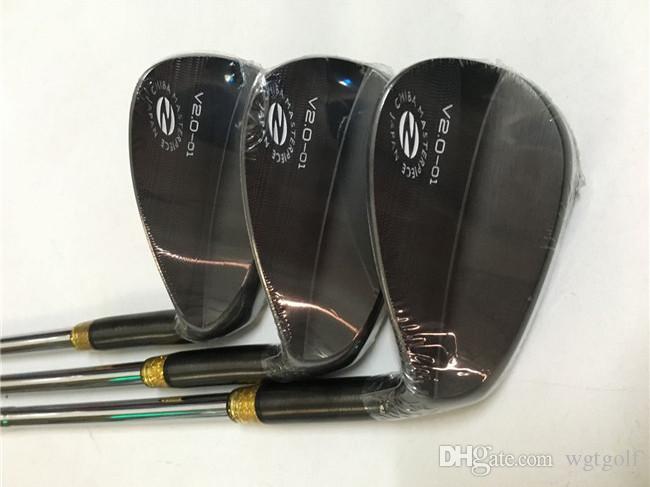 Zodia Spider v2.0-01 Wedge Zodia Spinne Golf Wedges Black Golf Clubs 48/50/52/54/56/58 Stahlwelle mit Kopfabdeckung
