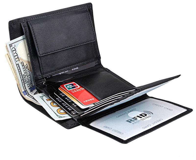 Genuine Leather Money clip,Man Wallet,Card Leather Brand Long Wallet ,Luxury Wallet Men Designer Wallet Purse, Coin Purse