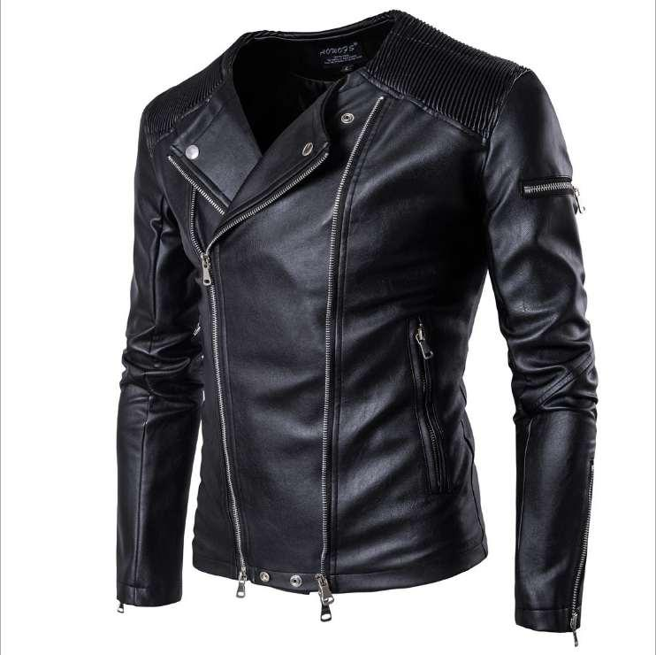 l'autunno e l'inverno giacche mens Cuoio cappotto del rivestimento degli uomini Primavera Autunno uomo Streetwear Abbigliamento Plus Size Nuova