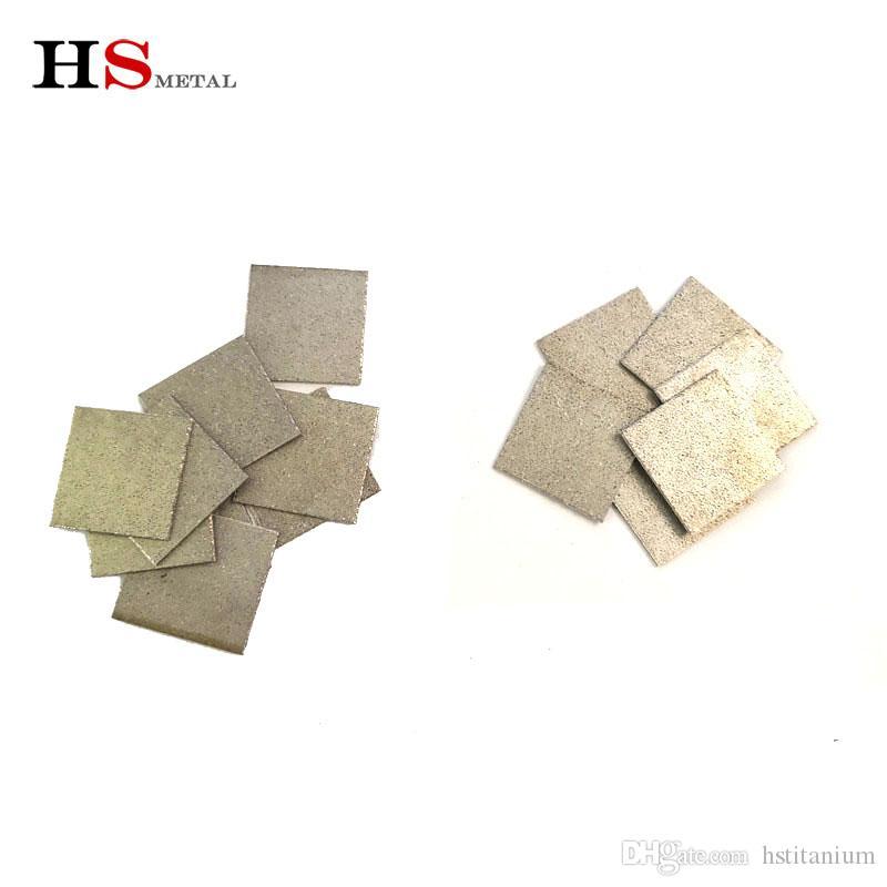 Titanio poroso polvo para sinterización de metal Industria 50 micras de metal sinterizado filtrante de la venta caliente bao ji fábrica