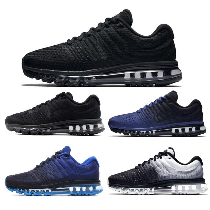 2020 para mujer para hombre zapatos corrientes Deportes Walking zapatillas Negro Blanco Tamaño caliente 36-45 Venta