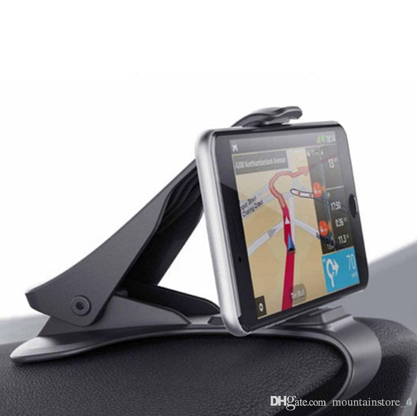 Araç Telefonu Tutucu Kontrol Paneli Bağlantı Evrensel Beşik Cep telefonu GPS Parantez Cep Telefonu Tutucu Car Phone için Standı Klip (Perakende)
